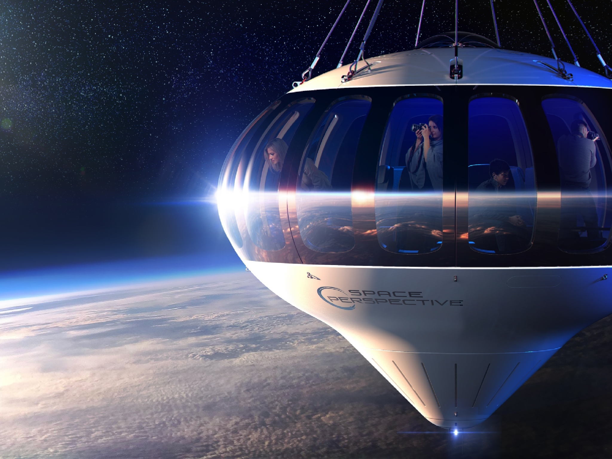 This balloon ship could soon take you into space