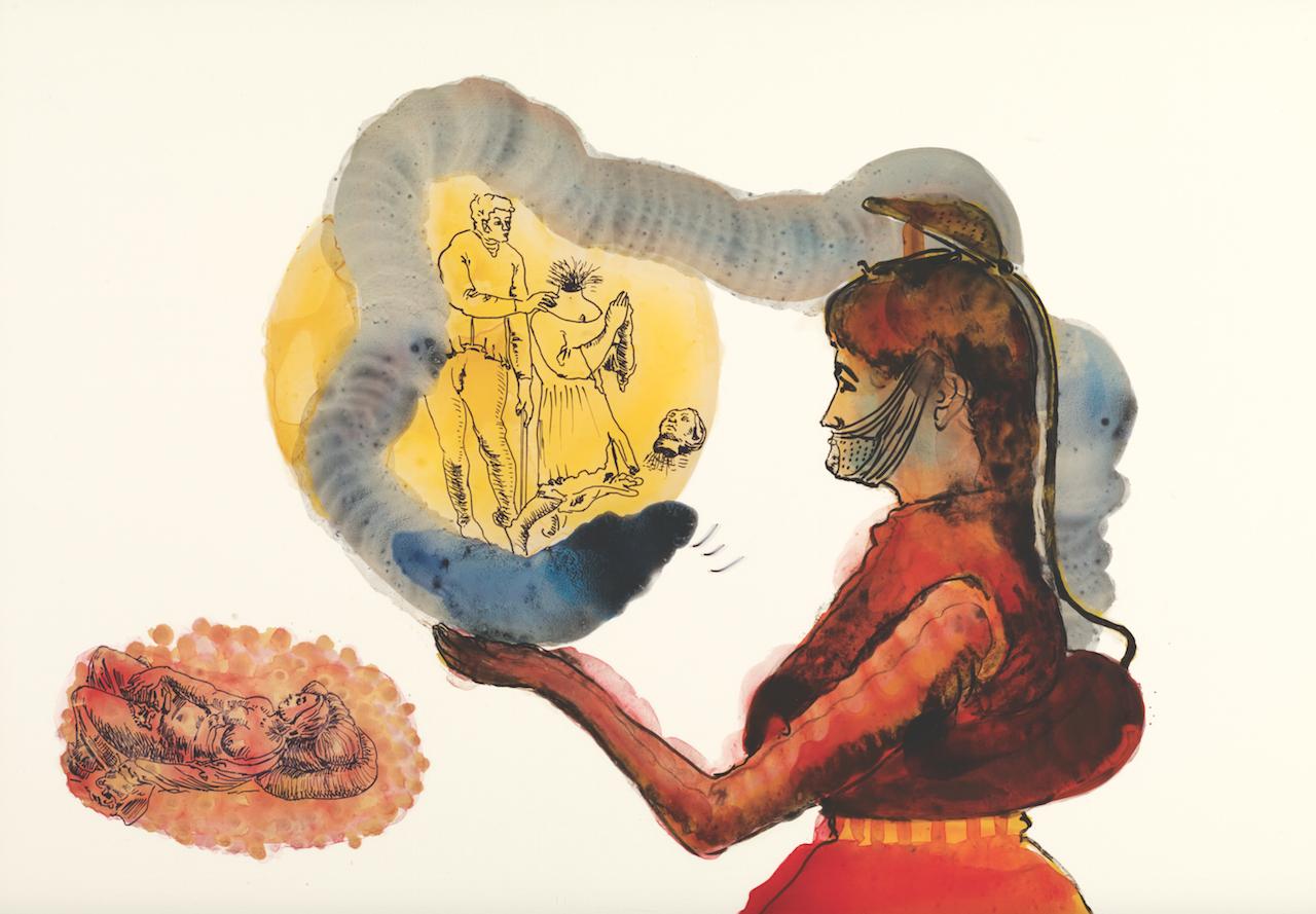 Nalini Malani, Fundació Miró