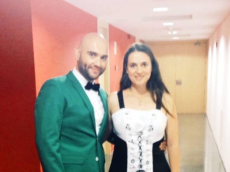 Núria Rial y Xavier Sabata