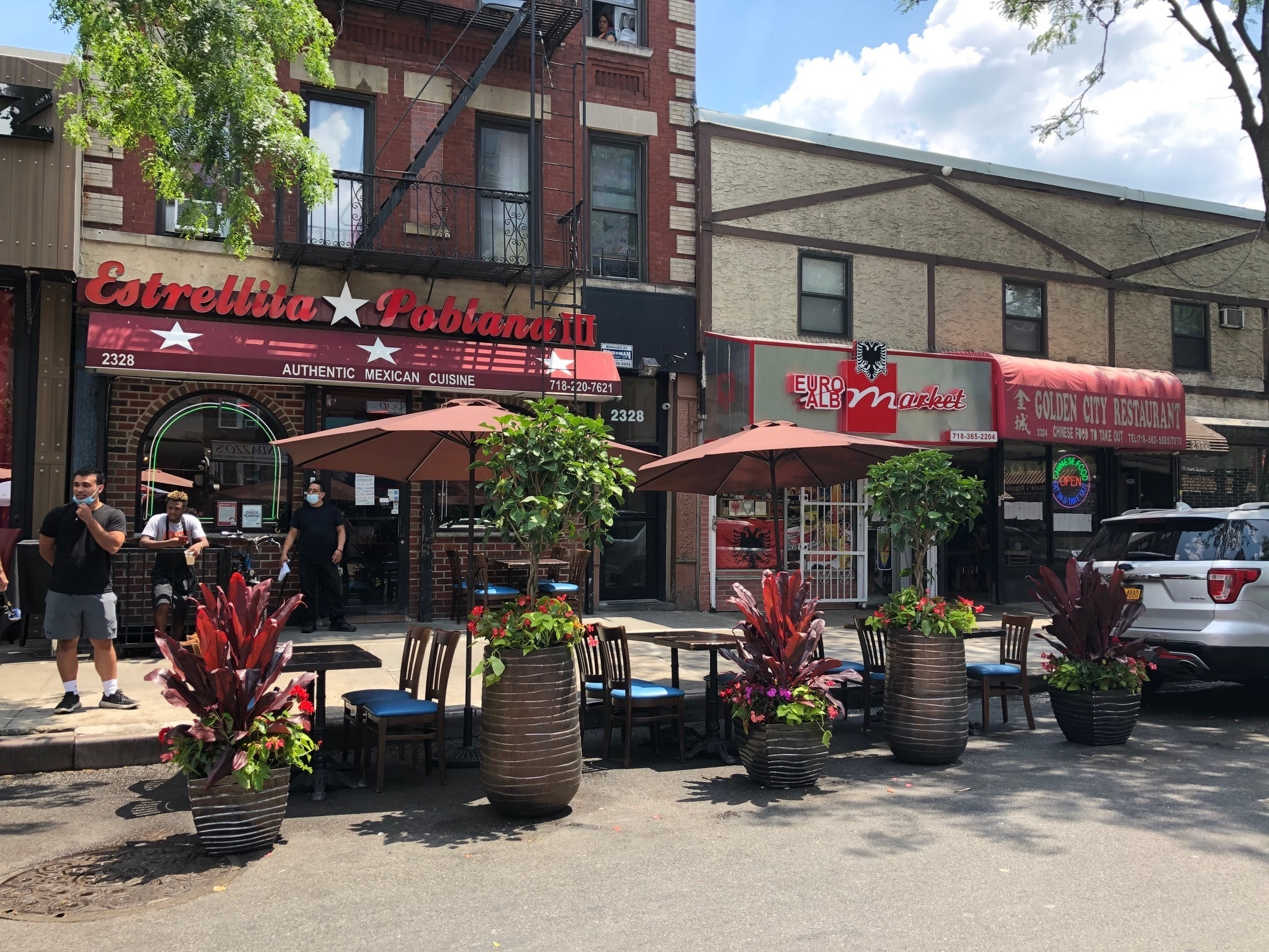 The Bronx's Little Italy plans to open piazza-style outdoor dining on weekends