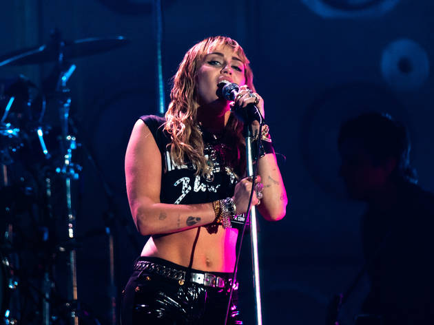 Miley Cyrus performs live at Primavera Sound 2019