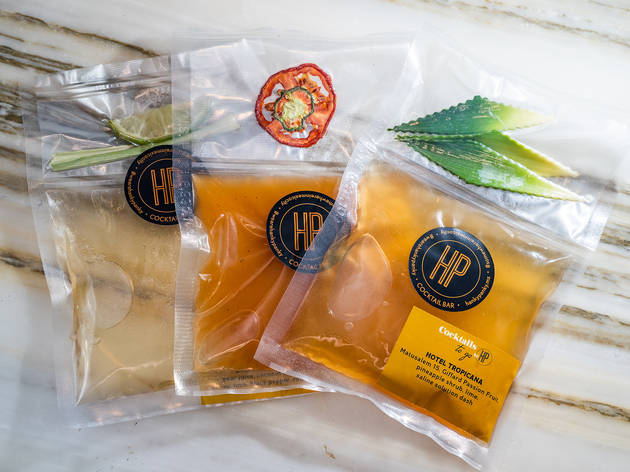 cocteles empacados al vacío de hanky panky