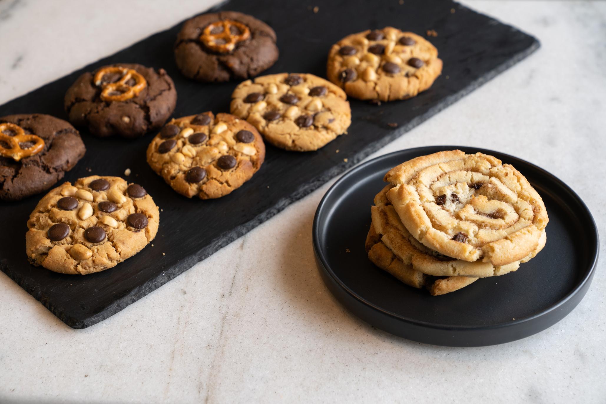 galletas de miel me sabe con chocolate y nuez