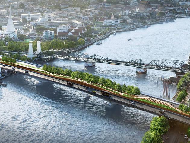 'เจ้าพระยาสกายปาร์ค' จากสะพานด้วนสู่สวนลอยฟ้าแห่งแรกของคนกรุงเทพฯ