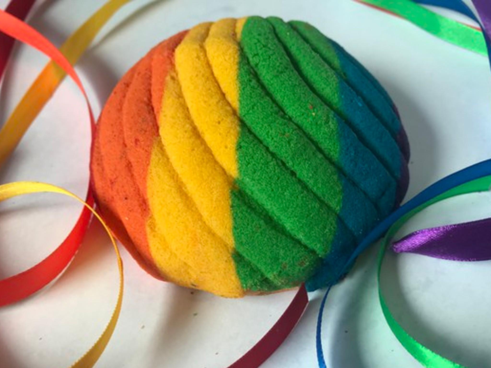 concha de colores