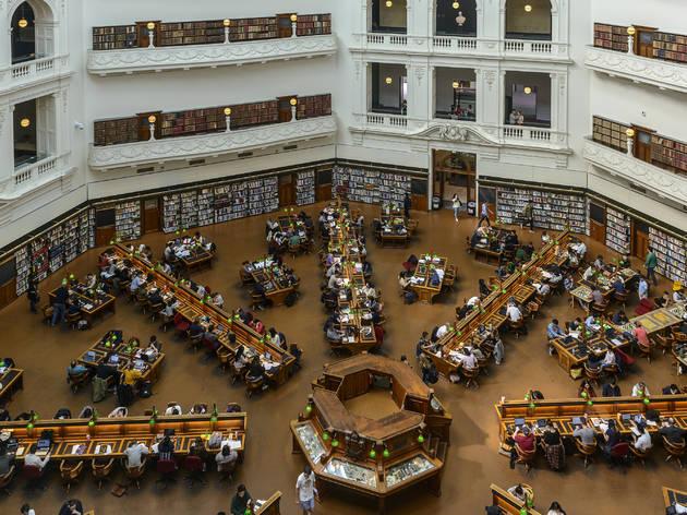 State Library of Victoria La Trobe Reading Room