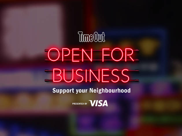 Open for business: Support your neighbourhood presented by Visa