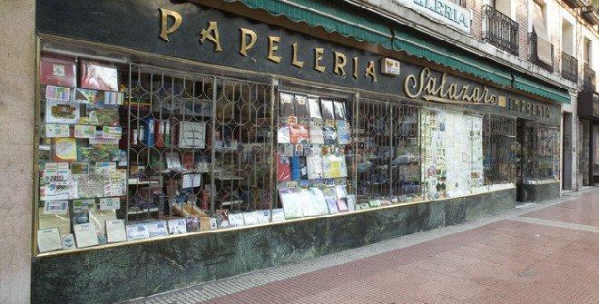 Salazar papelería más antigua de Madrid
