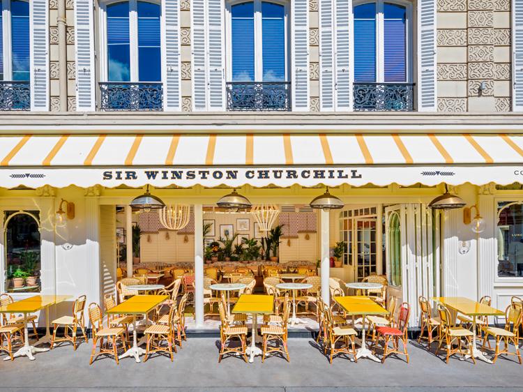 Sir Winston, la plus brit des terrasses parisiennes (16e)