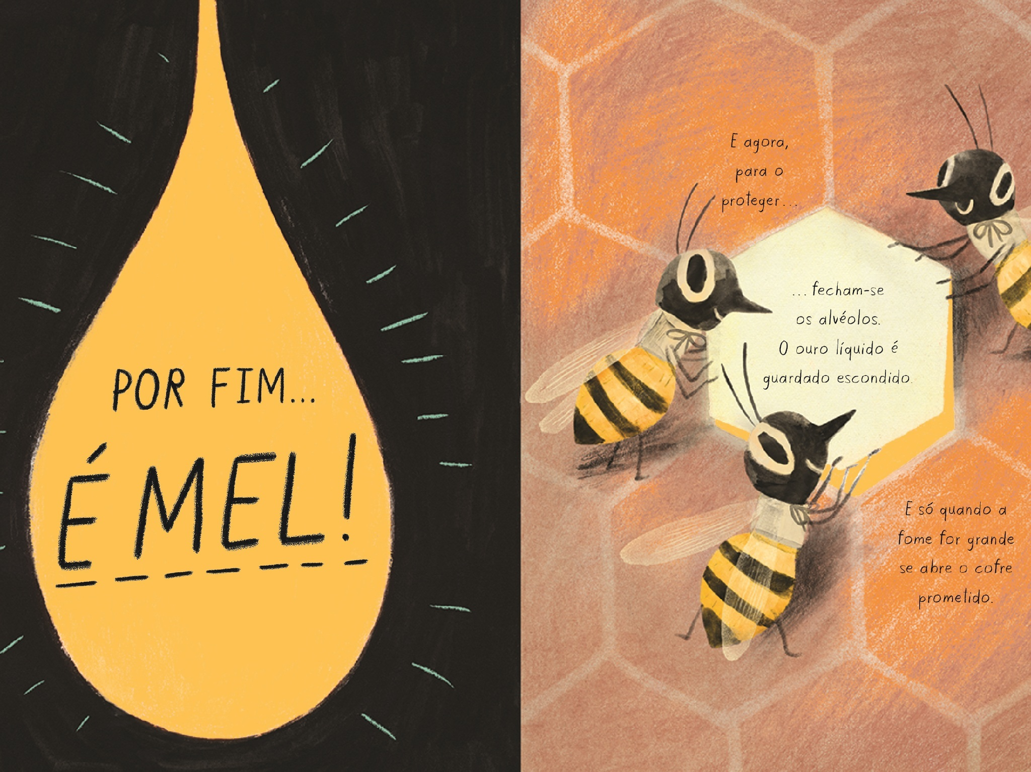 Livros, Livros Infantis, A Abelha, Kirsten Hall e Isabelle Arsemault