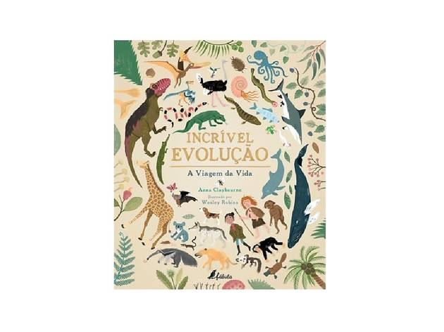 Livros, Livros Infantis, Incrível Evolução, Anna Claybourne