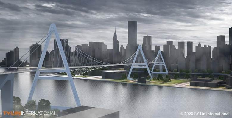 There could be a bike and pedestrian only bridge coming to NYC