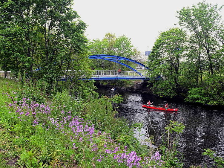 Starlight Park, Bronx River Greenway