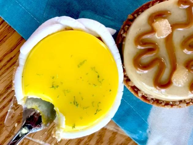 tarta de limón gourmet