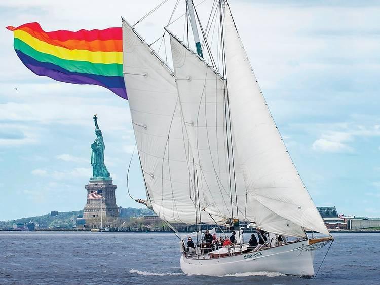 Take a cruise around NYC