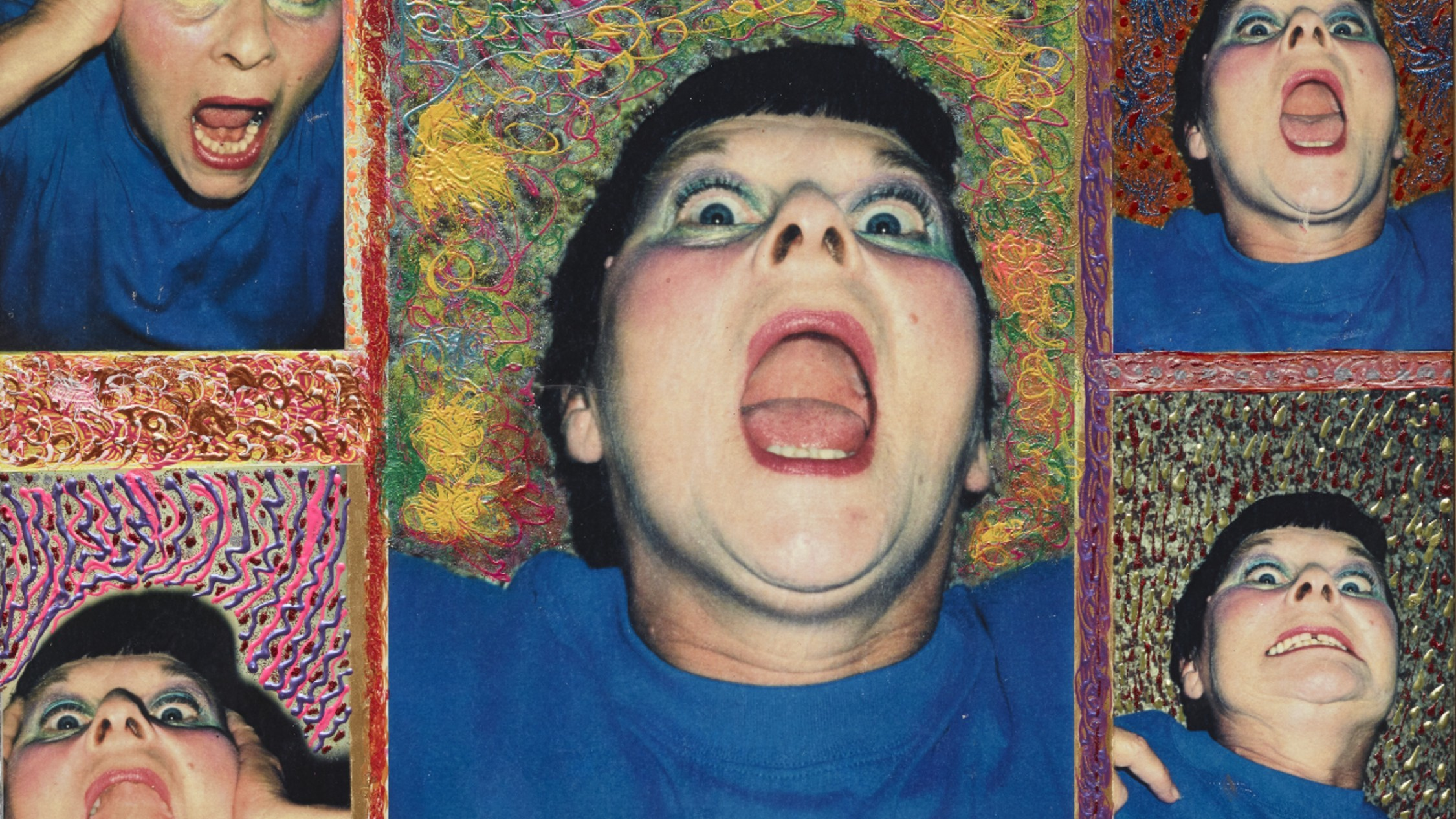 Patricia Larter 'Pat's anger' 1992