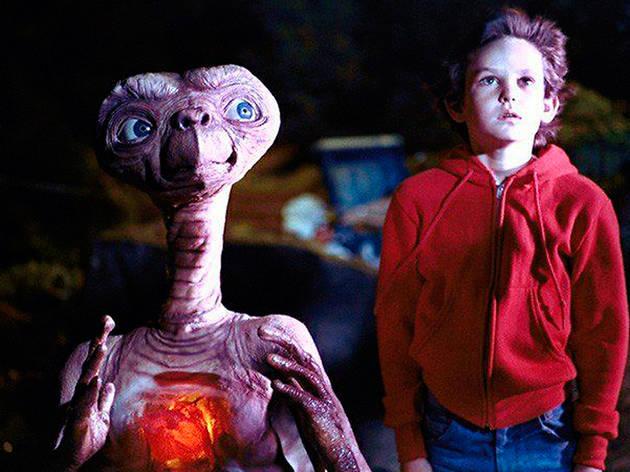 Fotograma de E.T.