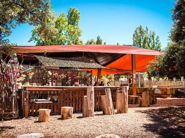 Bar, Cinco Woodland, Parque da Serafina, Monsanto