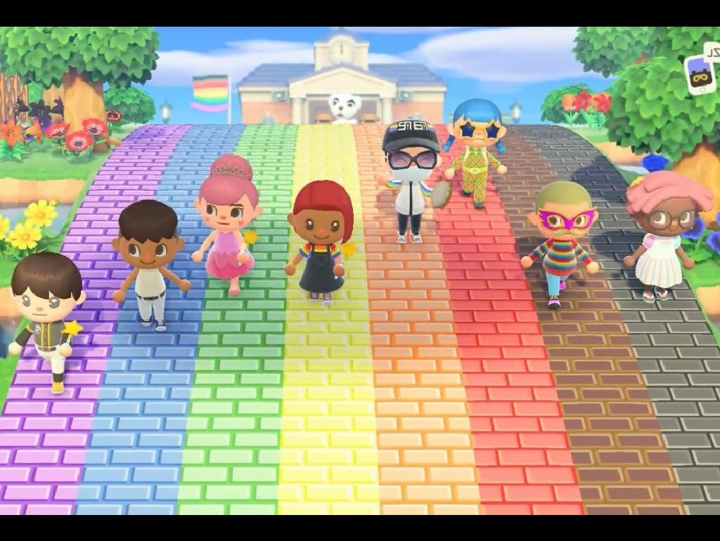 VideoJogo, Switch Animal Crossing: New Horizons, Marcha Pride Virtual