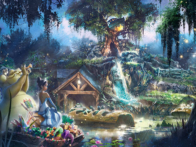 Princess and the Frog Splash Mountain revamp