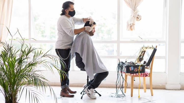 Barbercycle, barbería a domicilio