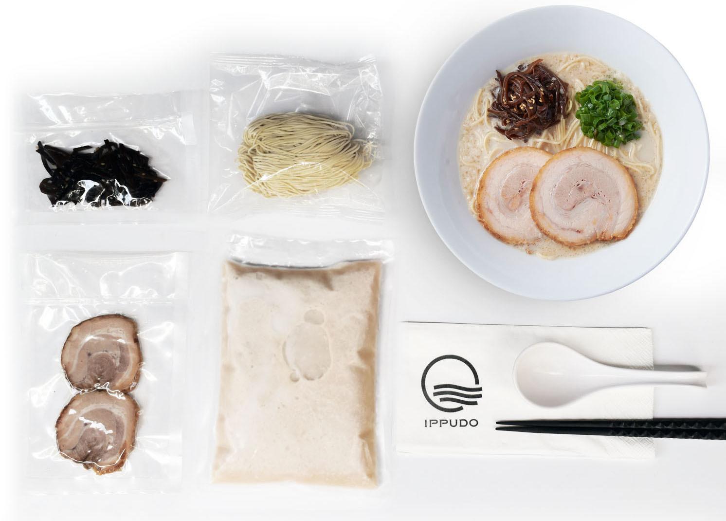 Ippudo DIY ramen meal kit