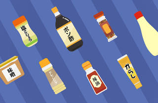 Japanese condiments
