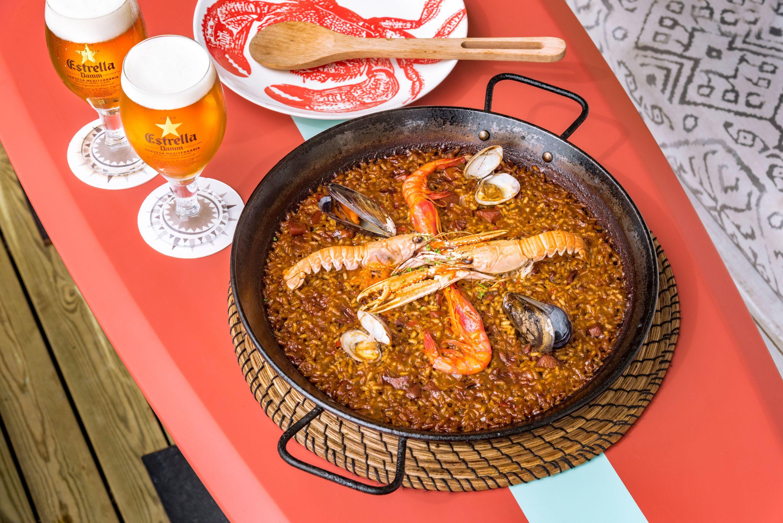 Arroces de premio en el restaurante Solraig by Tibu-Ron de Castelldefels