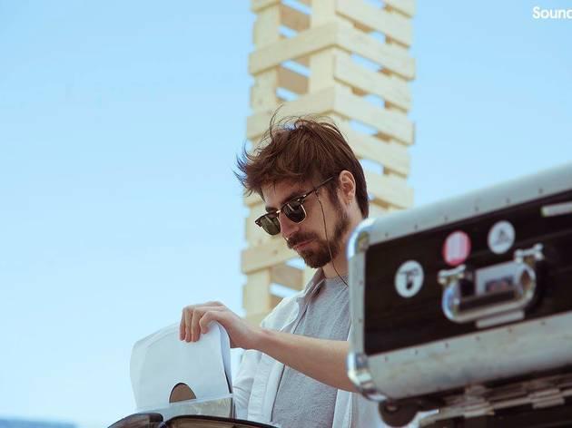 Pau Roca punxant al festival SoundEat