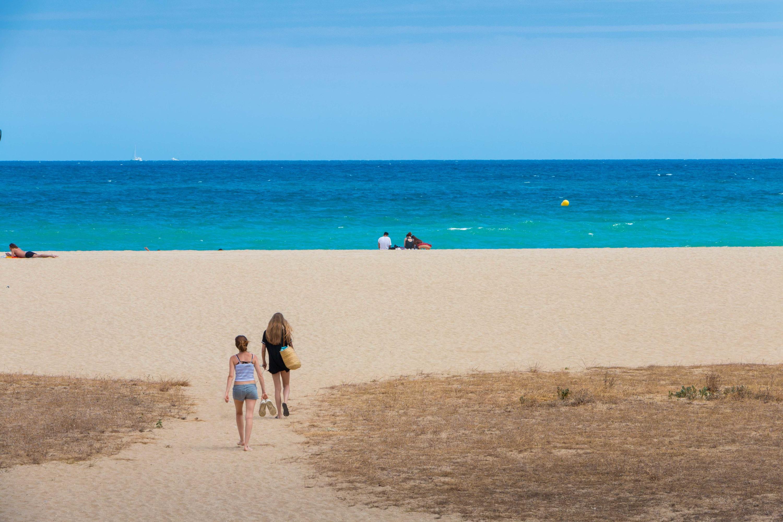 Famtrip Maresme, platja Varador de Mataró