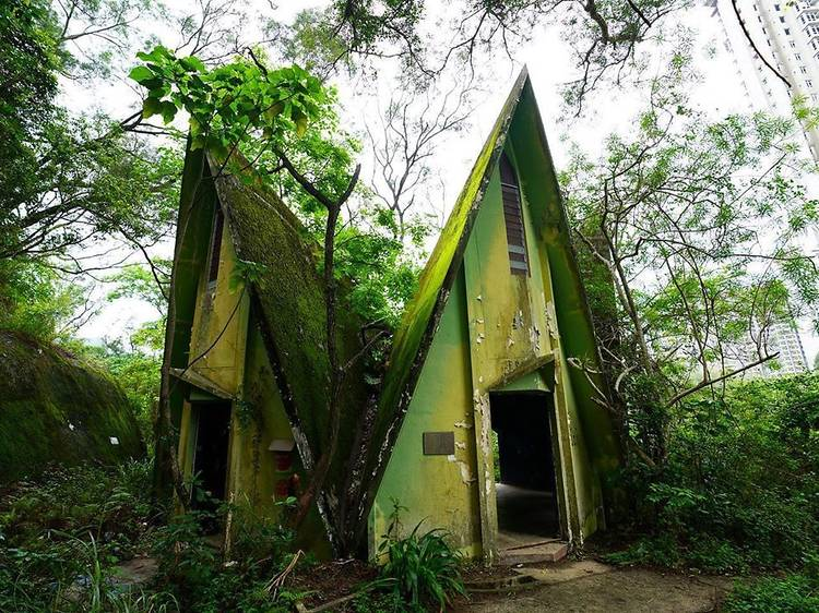 Unconventional buildings and places to visit in Hong Kong