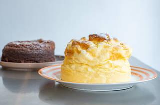 cheesecake japonés de himawari café
