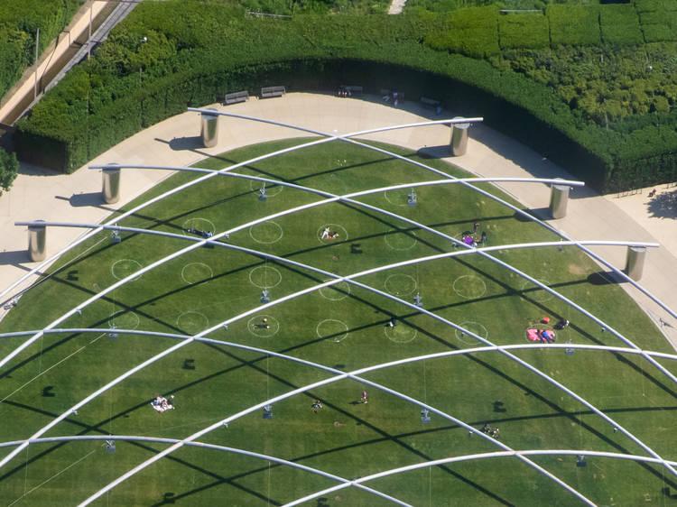 See public art in Millennium Park