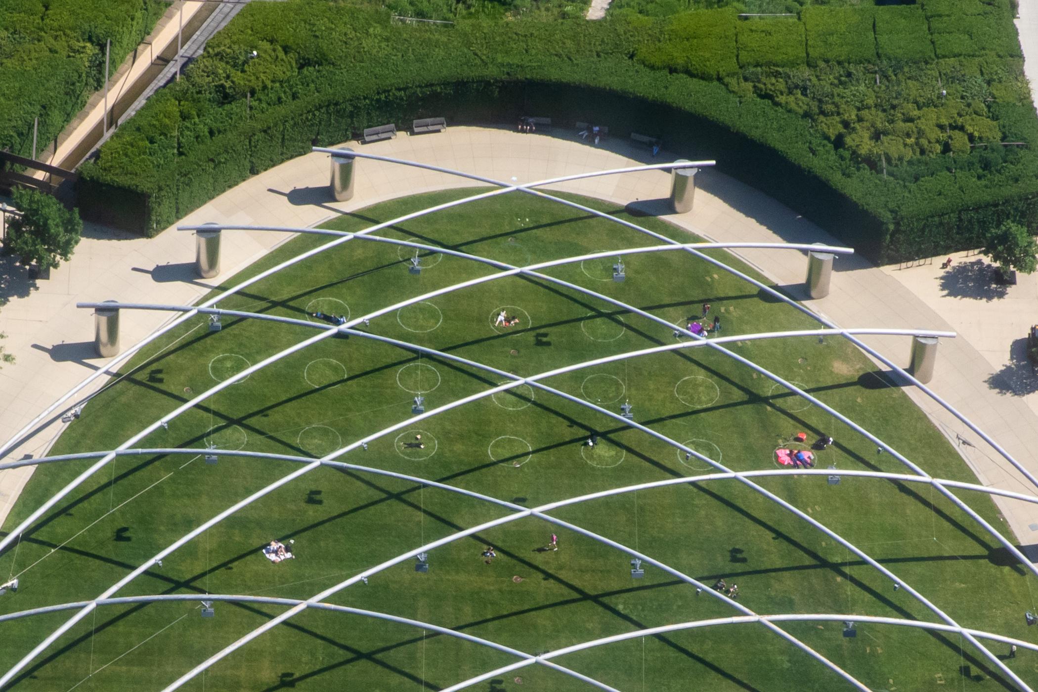 Millennium Park Great Lawn
