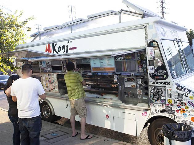 Kogi BBQ food truck