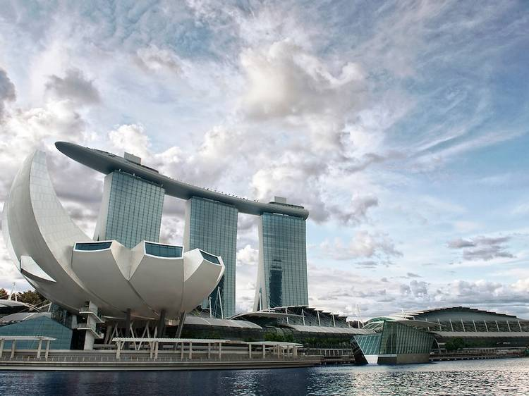 Snap that money shot at Marina Bay Sands