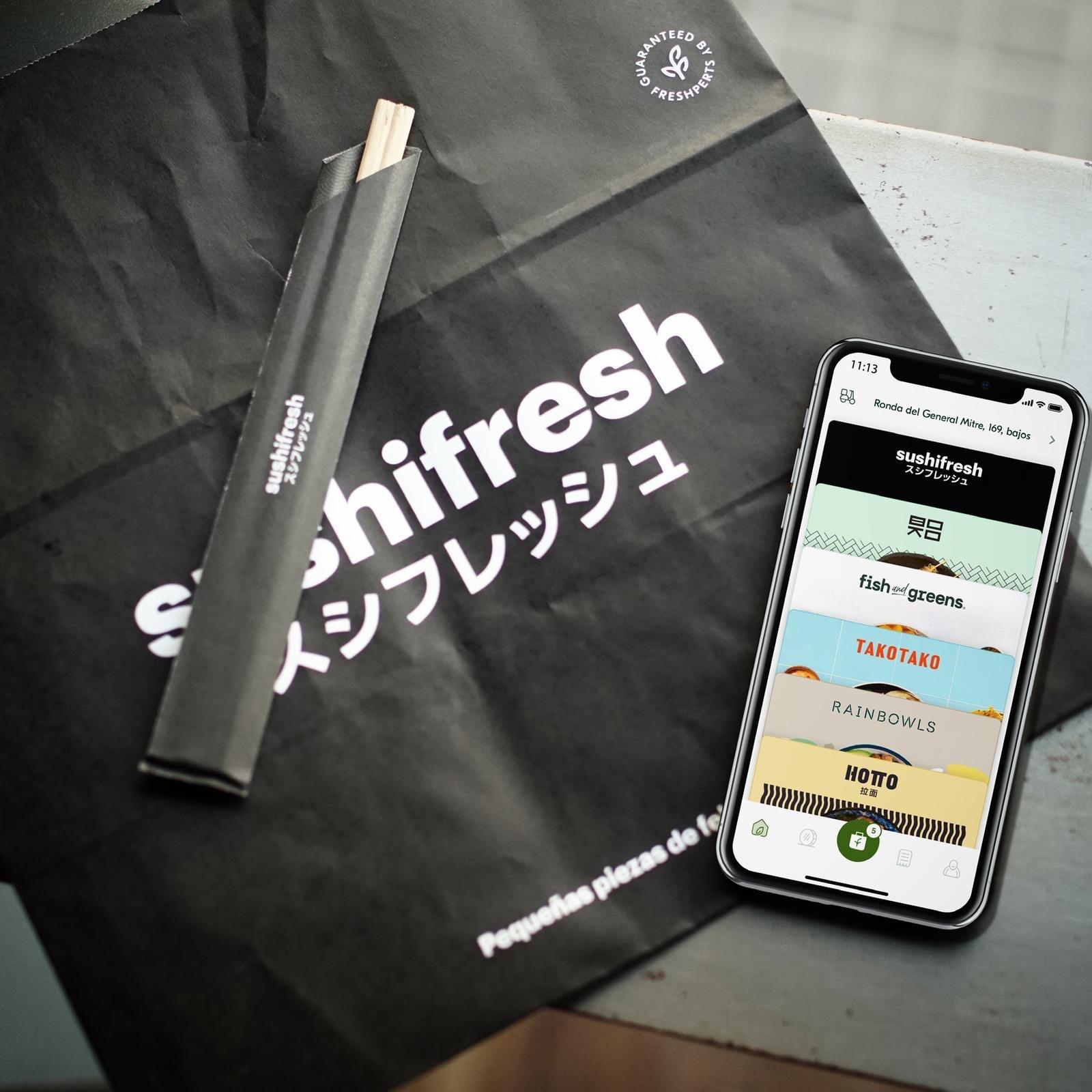 Un mundo gastronómico con la app de Freshperts