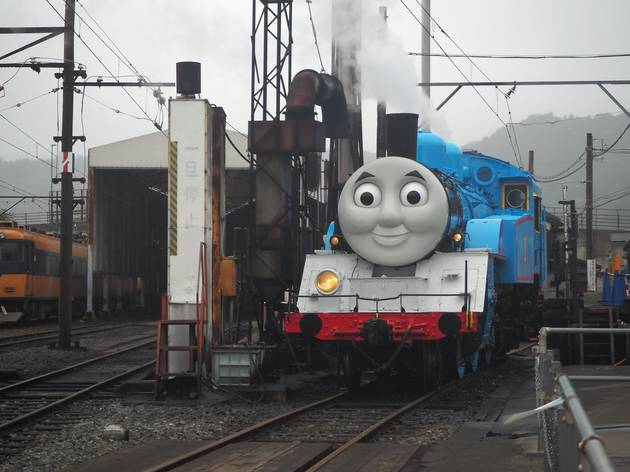 You can now ride a real Thomas the Tank Engine train in Japan