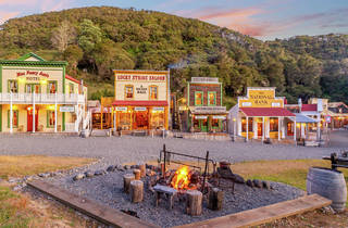 Mellonsfolly Ranch, New Zealand's boutique western town