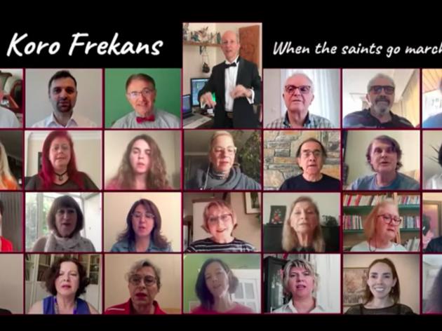 Koro Frekans'tan online konser
