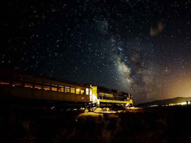 Ely, NV: Admire the heavens on the Star Train