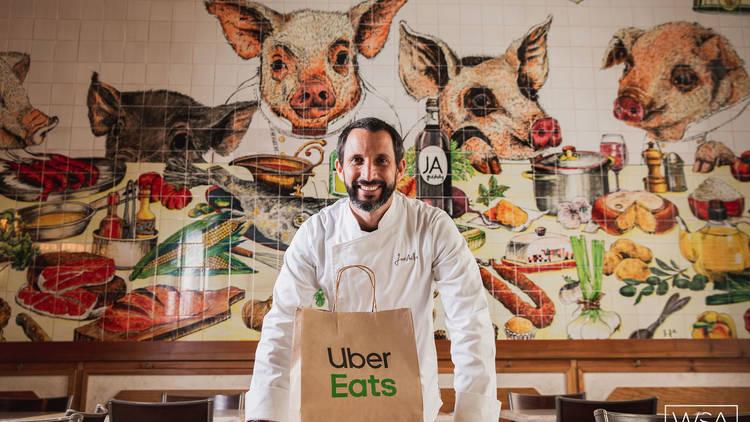Bairro do Avillez Uber Eats