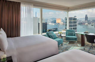 Deluxe Room - Double beds - Harbour View