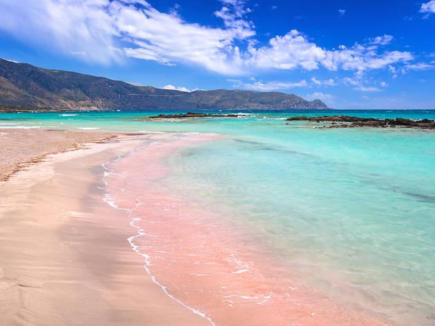 Playa de Elafonissi, Creta