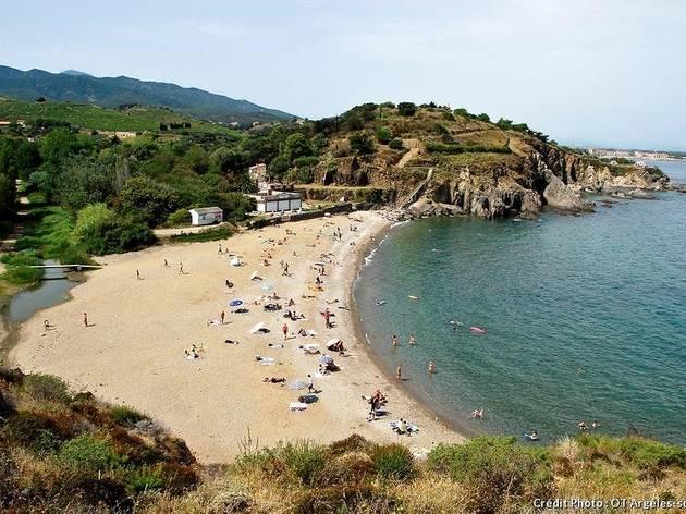 Plage d'Ouille, Argelès-sur-Mer