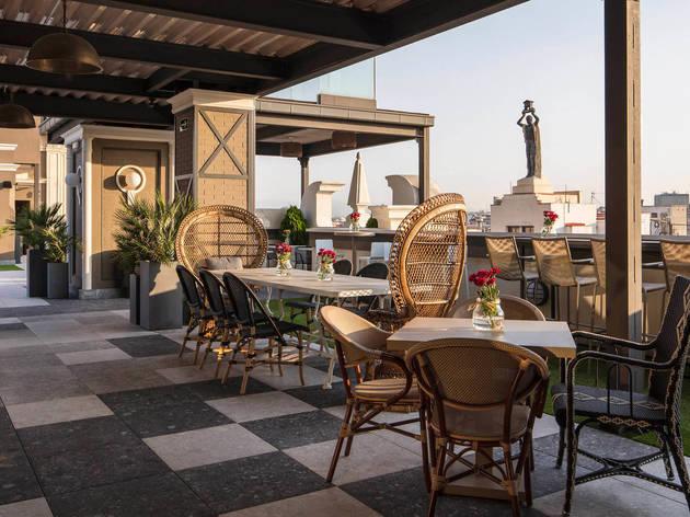 Terraza del Hotel Emperador