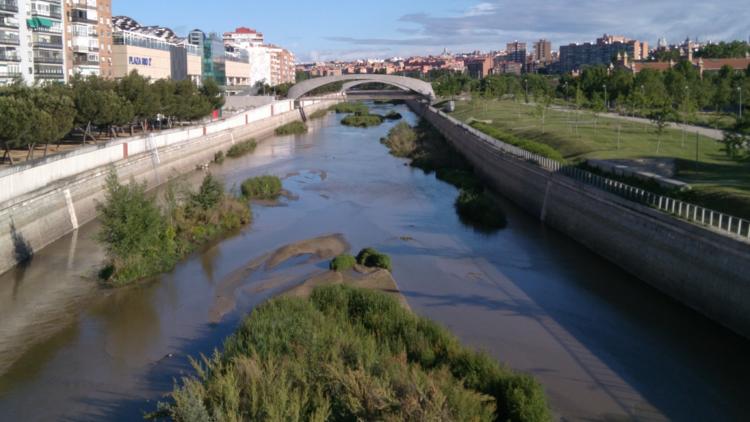 Vista de Madrid Río