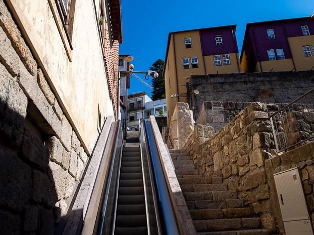 Escadas rolantes de Miragaia