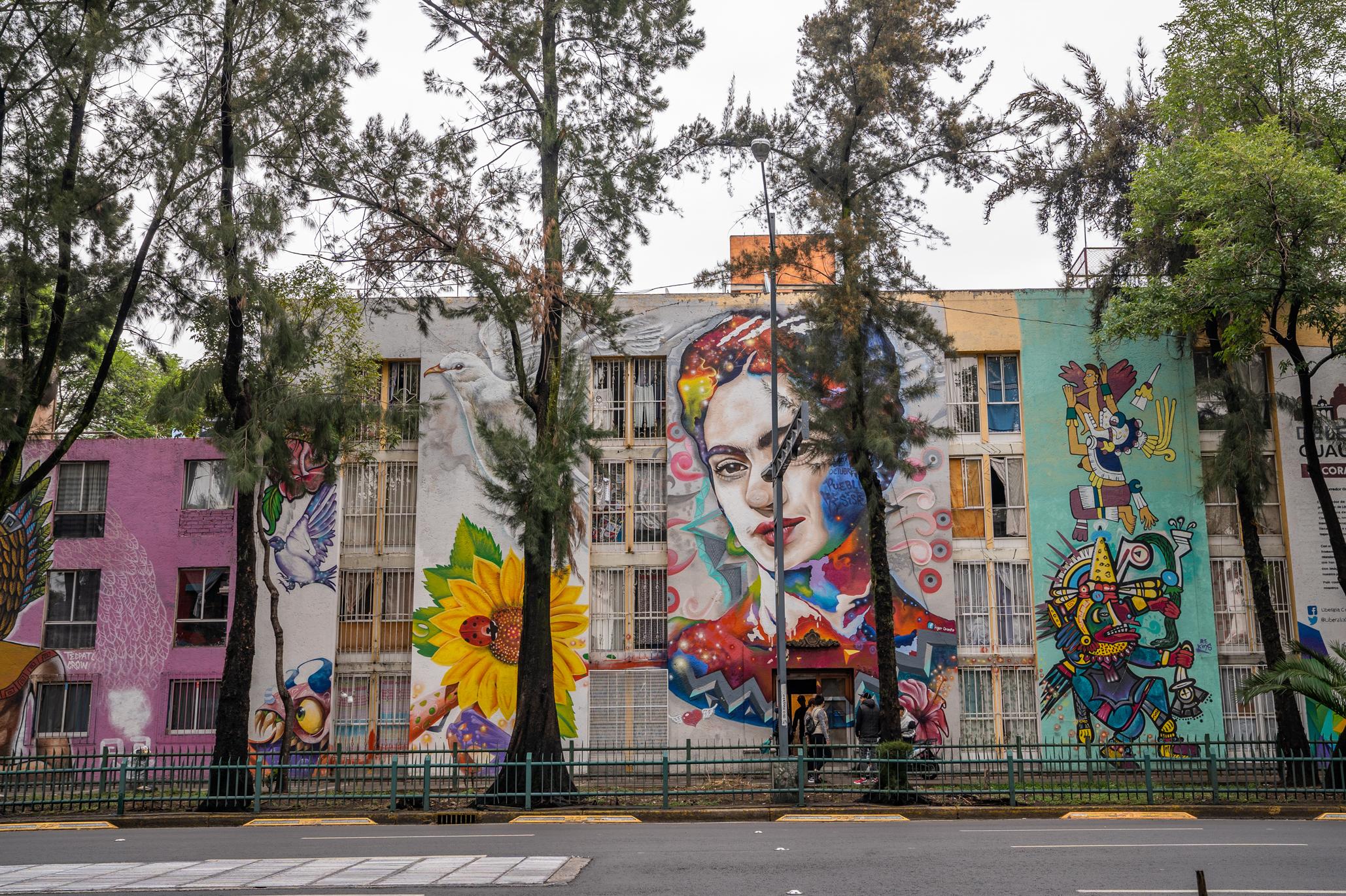 Corredor de arte urbano