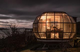 Scottish airship airbnb
